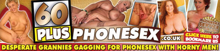 60 Plus Phone Sex